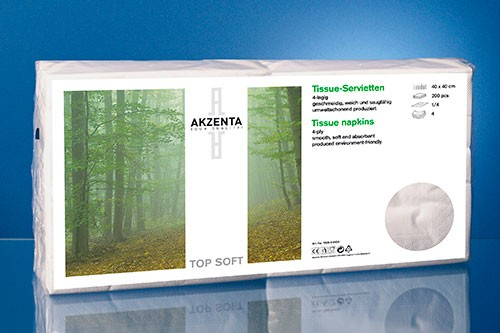 Akzenta® Top Soft-Servietten
